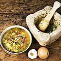La véritable soupe au pistou