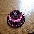 Collier perles et crochet