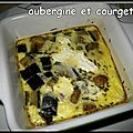 Clafoutis aubergine chèvre