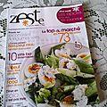 Orecchiette à la saucisse (magazine zeste)