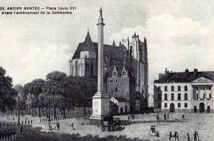Ancien Nantes - Place Louis XVI