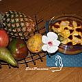 Gâteau de riz aux fruits et <b>vanille</b> de Kaukura...