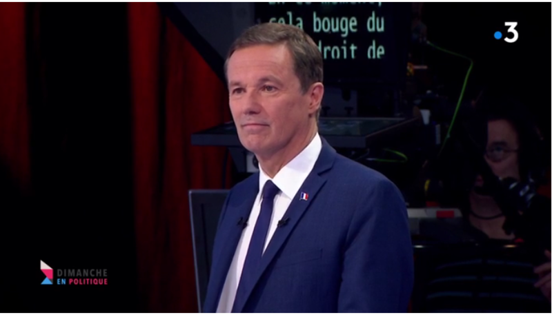 Nicolas Dupont-Aignan MEDIA DIXIT WORLD