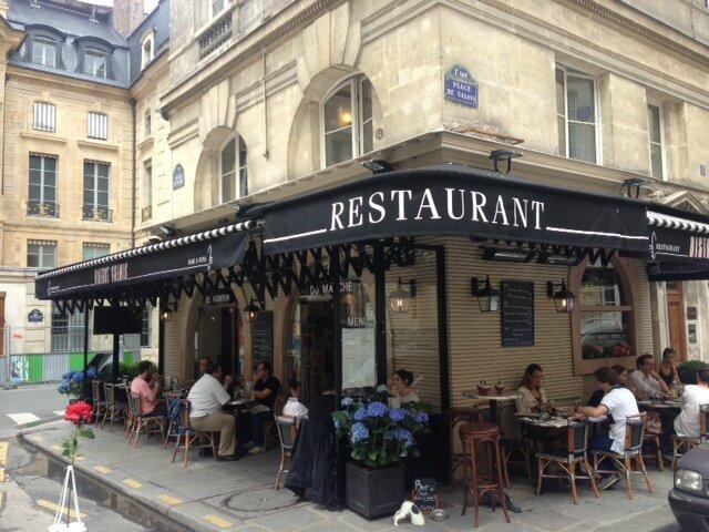 Mon déjeuner au bistrot de Valois, authentique !