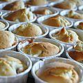 Soirée usa, part 4 : muffins poire - cranberries