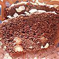 Cake chocolat - noix de macadamia