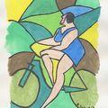 27- Fantomette à vélo