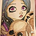 Halloween coloring book - jasmine becket-griffith