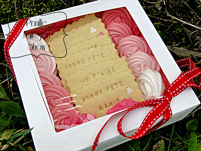coffrets biscuits grand mere prunille fait son show