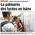 Le palmarès 2014 des <b>lycées</b>