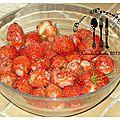 Le temps des ... fraises !