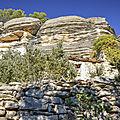 Abris sous roche et habitats <b>troglodytiques</b>