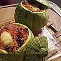 Profitons de la saison des courgettes avec un plat complet
