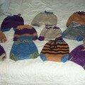 ensemble de culottes de protection en laine mérinos filée et teintée main dispo chez la p'tite sauterelle!