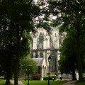 Amiens - jardin de l'évêché