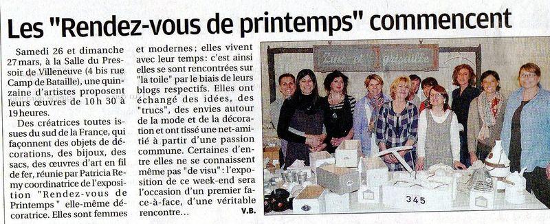 La Provence Avignon 26Mars2011