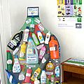 Création Recyclage plastique Tri des bouteilles en plastique Agglopole Provence Fabrice