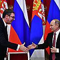 L'accord de libre-échange entre la Serbie et l'<b>Union</b> eurasiatique provoque la colère de Bruxelles et Washington