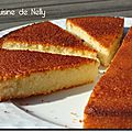 Gâteau aux blancs d'oeufs parfumé au citron vanille et amande (rien que ça !)
