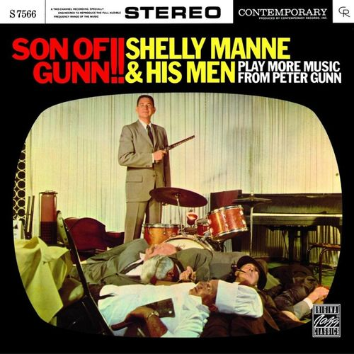 Shelly Manne & His Men - 1959 - Son Of Gunn !! Play more music from Peter Gun (Contemporary)
