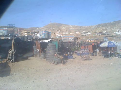 Le quartier populaire de Kaboul