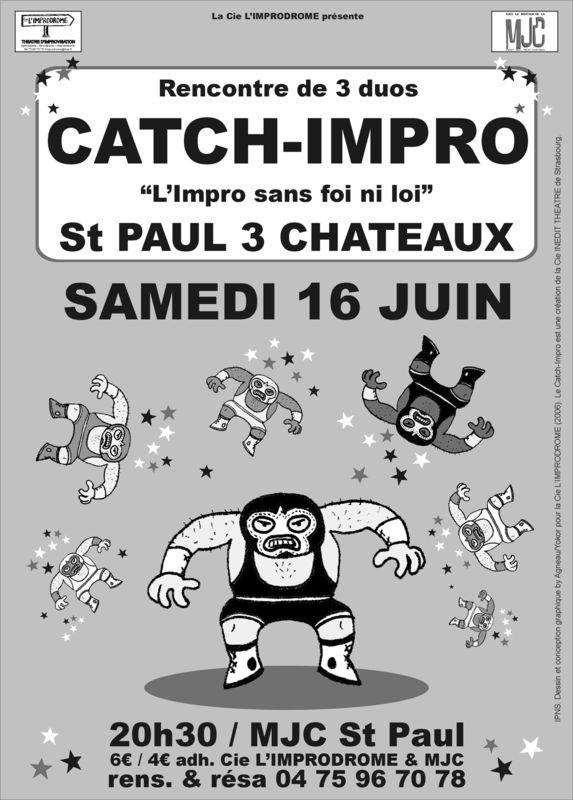Affiche Catch-Impro 16