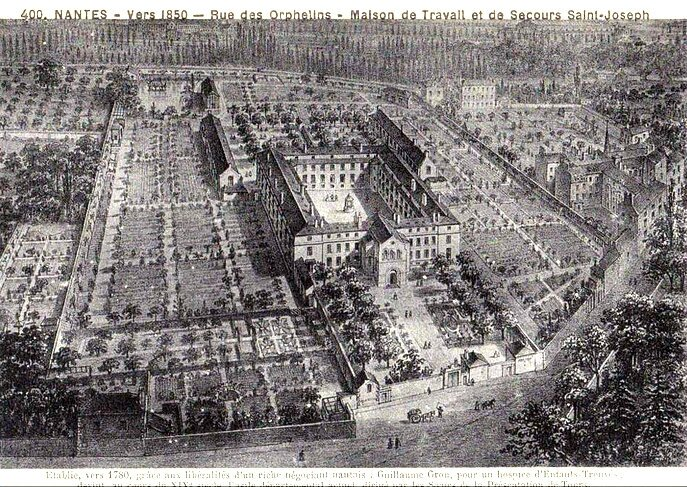 Ancien Nantes - Rue des Orphelins