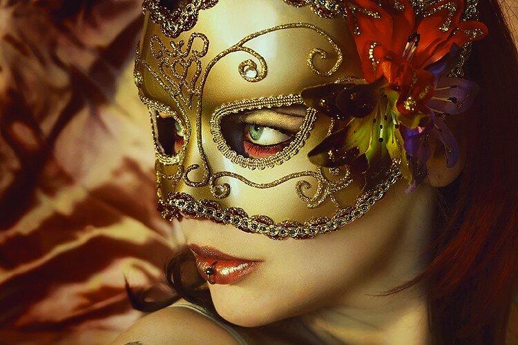 superbe masquée