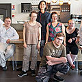 Dans ce restaurant de Mulhouse, six salariés porteurs de <b>trisomie</b> <b>21</b> assurent en cuisine