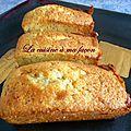 Moelleux citron pavot