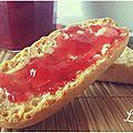 Gelée de verveine/miel et fraise