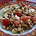 Salade de pois chiche anti-<b>canicule</b>