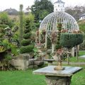 Godshill (Isle of Wight) - Le jardin d'un tea room