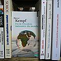 """Hervé Kempf """"Fin de l'Occident, naissance du monde"""""""