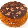 Gâteau choco circus