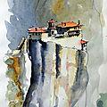 LUCAS ET KIRYLL. Un monastère intrigant en Grèce du nord...