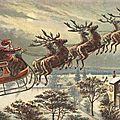 Le renne au nez rouge et petit cadeau