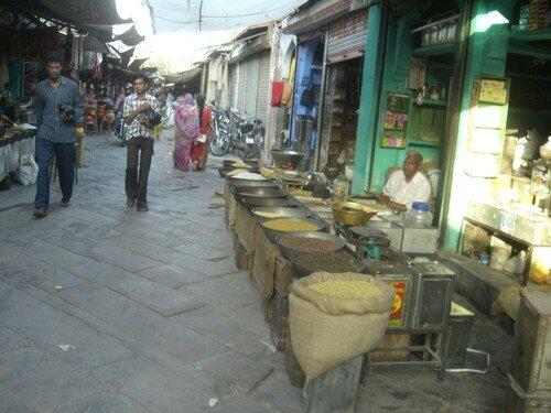 Jodhpur, marche, surtout aux epices