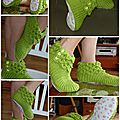 chaussons crocodile