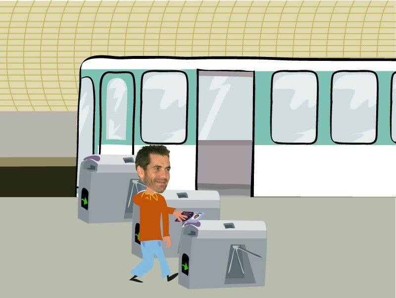 Secteur Télébillétique RATP Intranet [cliquez sur la cible >]