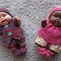 Mini poupées Peques Paola <b>Reina</b>...et leur garde-robe !