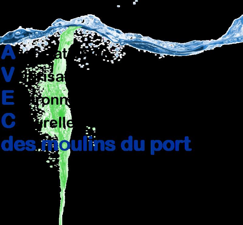 Logo Avec des moulins du port