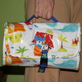 sac a couches, tapis pour langer bebe en voyage, travel diaper bag and mat