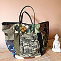 Sac sardine & cie collection camouflage