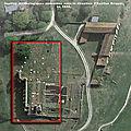Histoire de l'abbaye de maillezais, plan des fouilles archéologiques exécutées sous la direction d'apollon briquet en 1834