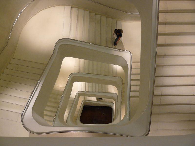 escalier Caixa Forum