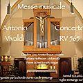 Messe musicale à bettange-sur mess