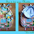 Petit sac à dos pour une première rentrée scolaire
