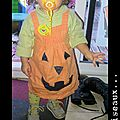 robe d'halloween après