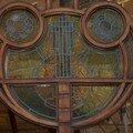 Vitrail Art Nouveau près de la Grand Place de Bruxelles